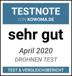 DJI Ryze Tello Test Ergebnis: Sehr Gut - Drohnen Test